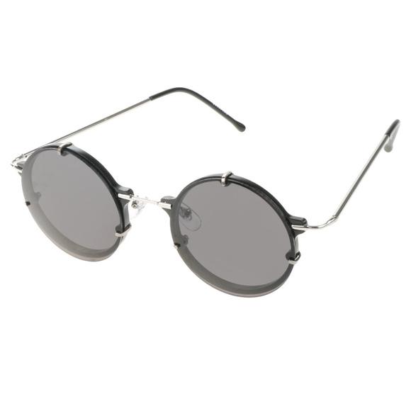 ab61db56c75 SPITFIRE EYEWEAR Infinity Sunglasses Black Silver